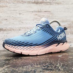 Womens Hoka OneOne Clifton 5 Running Shoes Sz 7.5